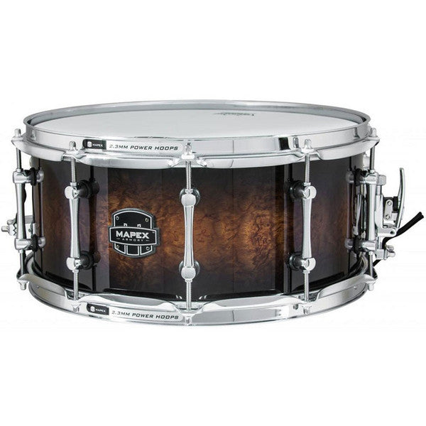 Mapex The Exterminator 14 x 6.5in Snare Drum Rosewood Burl