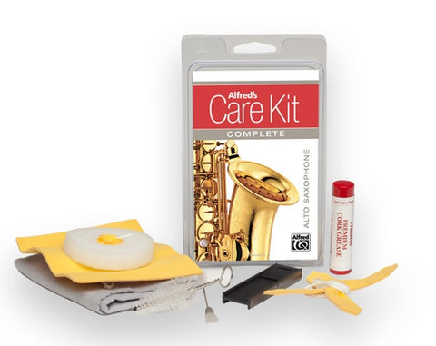 Alfred's Care Kit Complete Alto Saxophone
