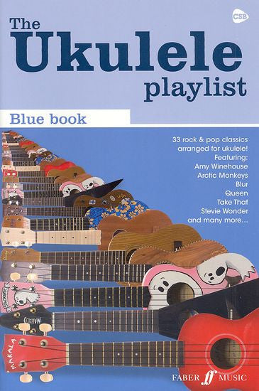 The Ukulele Playlist Blue Book