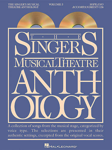 Singers Musical Theatre Anthology Soprano Volume 3