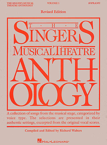 Singers Musical Theatre Anthology Soprano Volume 1