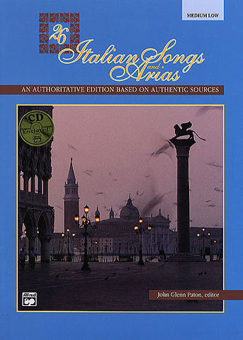26 Italian Songs and Arias Medium Low Voice