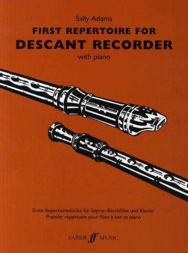 First Repertoire Descant Recorder