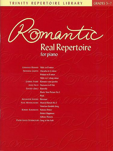 Romantic Real Repertoire For Piano Grades 5-7