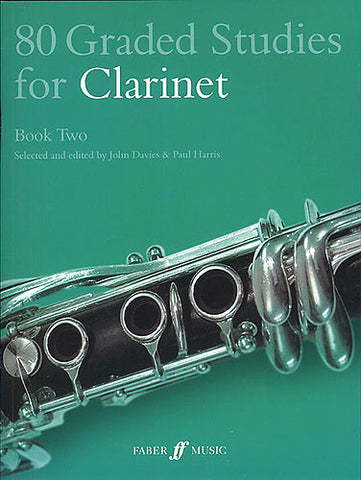 80 Graded Studies for Clarinet Book 2