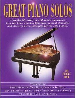 Great Piano Solos Purple