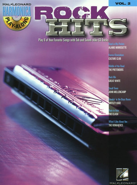 Harmonica Play-Along Volume 2 Rock Hits