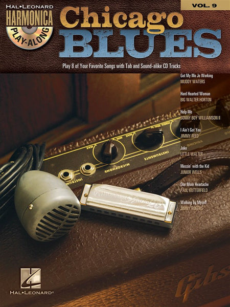 Harmonica Play-Along Volume 9 Chicago Blues