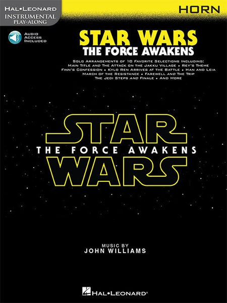 Star Wars The Force Awakens for Horn Book and Online Audio