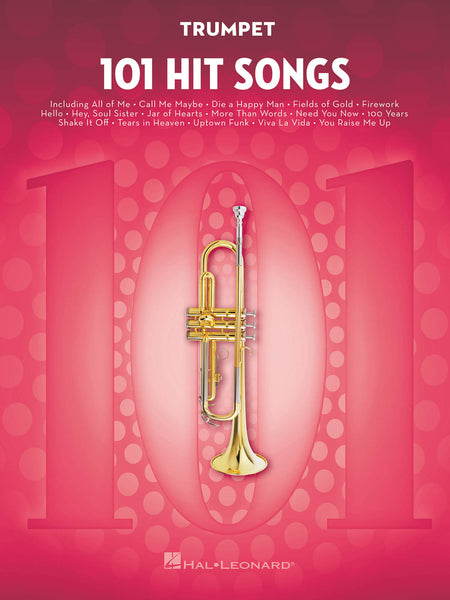 101 HIT SONGS TRUMPET