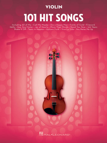 101 HIT SONGS VIOLIN