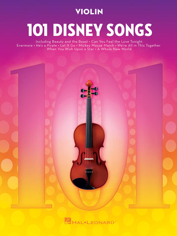 101 DISNEY SONGS VIOLIN
