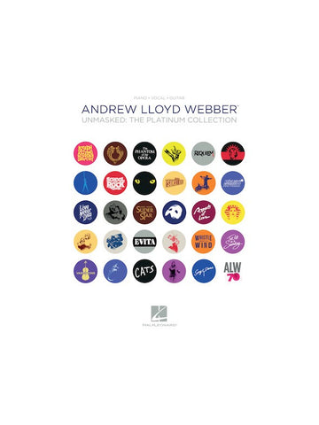 Andrew Lloyd Webber Unmasked The Platinum Collection PVG