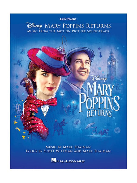 Mary Poppins Returns Easy Piano