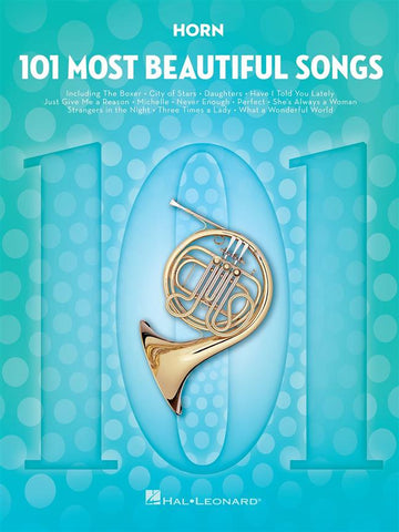 101 MOST BEAUTIFUL SONGS HORN