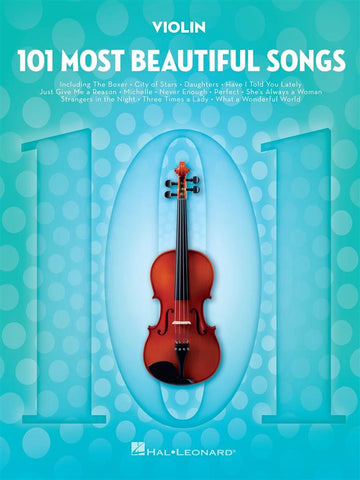 101 MOST BEAUTIFUL SONGS VIOLIN
