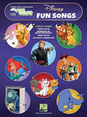 Disney Fun Songs Piano/Keyboard