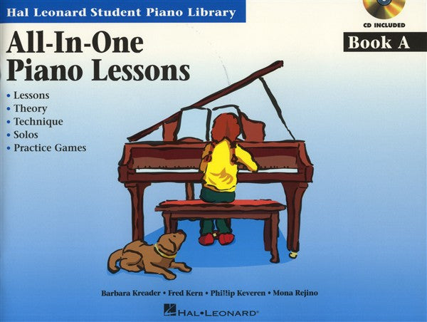 Hal Leonard All In One Piano Lessons Book A