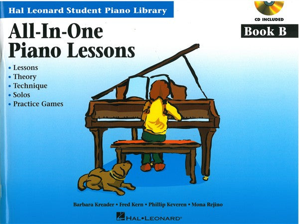 Hal Leonard All In One Piano Lessons Book B