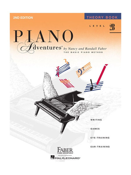 Piano Adventures Theory Book Level 2B