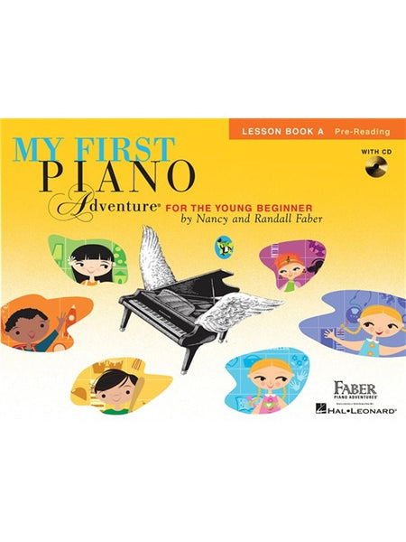 Faber Piano Adventures My First Piano Adventure Lesson Book A