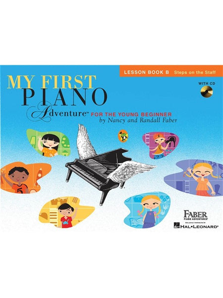 Faber Piano Adventures My First Piano Adventure Lesson Book B
