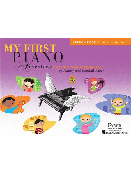 Faber Piano Adventures My First Piano Adventure For The Young Beginner Writing Book C - Pre-Reading