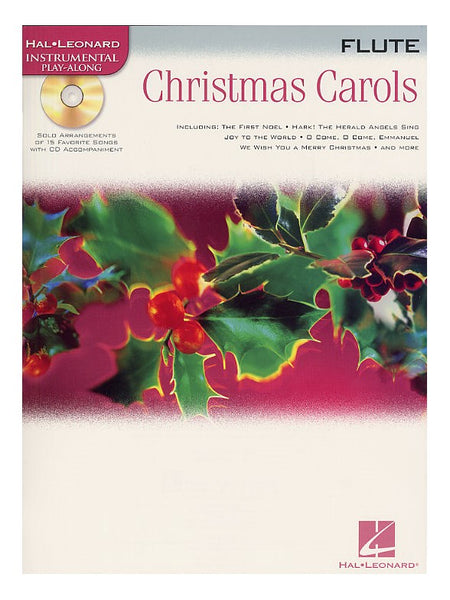 Christmas Carols Flute Hal Leonard Instrumental Play-Along