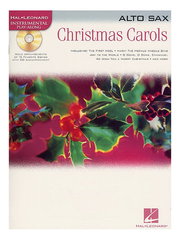 Christmas Carols Alto Sax Hal Leonard Instrumental Play-Along
