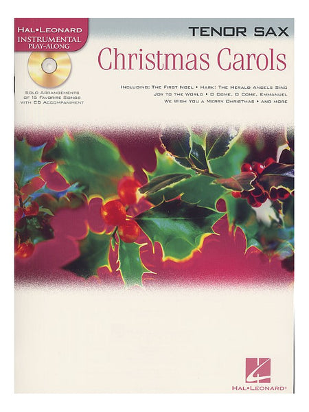 Christmas Carols Tenor Sax Hal Leonard Instrumental Play-Along