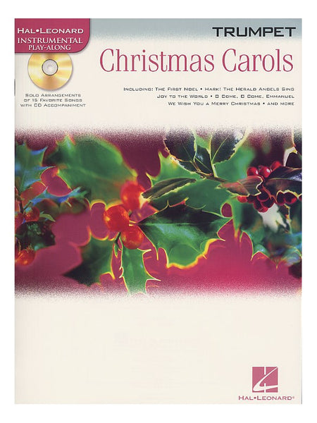Christmas Carols Trumpet Hal Leonard Instrumental Play-Along