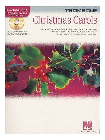 Christmas Carols Trombone Hal Leonard Instrumental Play-Along