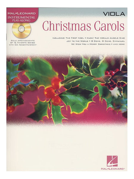 Christmas Carols Viola Hal Leonard Instrumental Play-Along