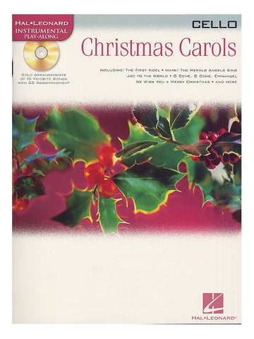 Christmas Carols Cello Hal Leonard Instrumental Play-Along