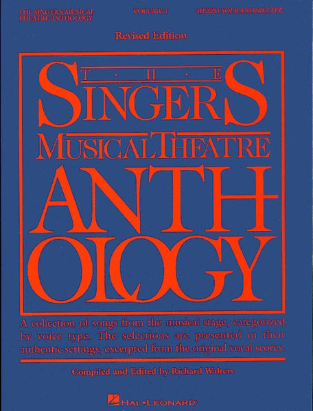The Singers Musical Theatre Anthology Volume One Mezzo-Soprano