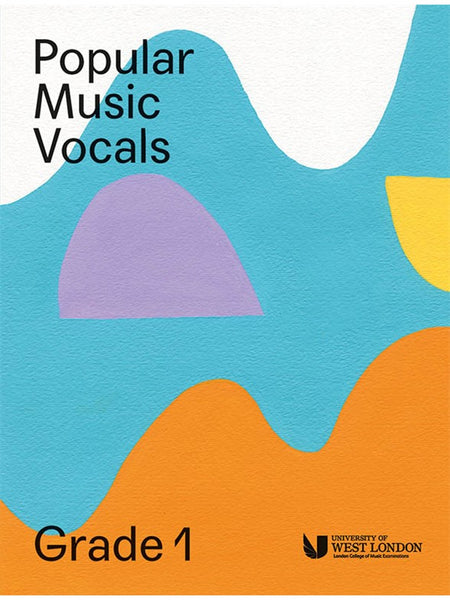 London College Of Music Popular Music Vocals Grade 1