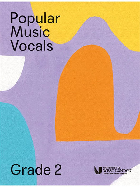 London College Of Music Popular Music Vocals Grade 2