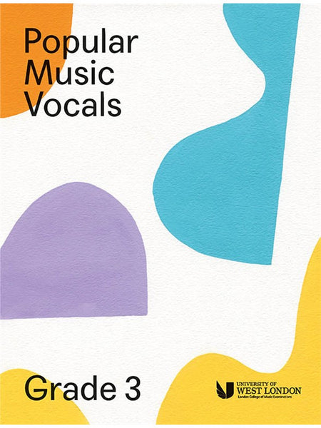 London College Of Music Popular Music Vocals Grade 3