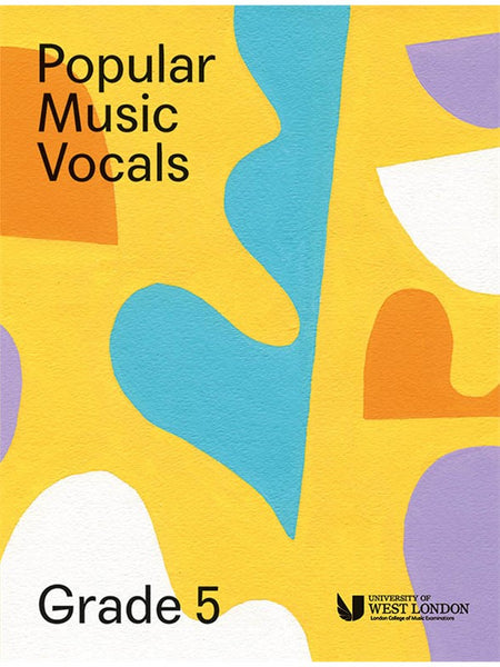 London College Of Music Popular Music Vocals Grade 5