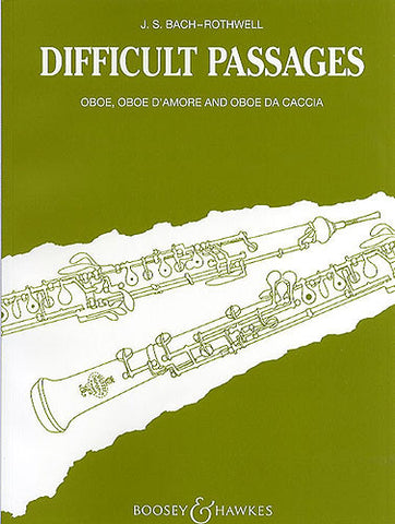 J.S. Bach: Difficult Passages For Oboe