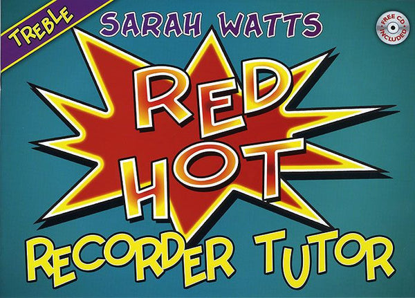 Red Hot Recorder Tutor - Treble (Student)