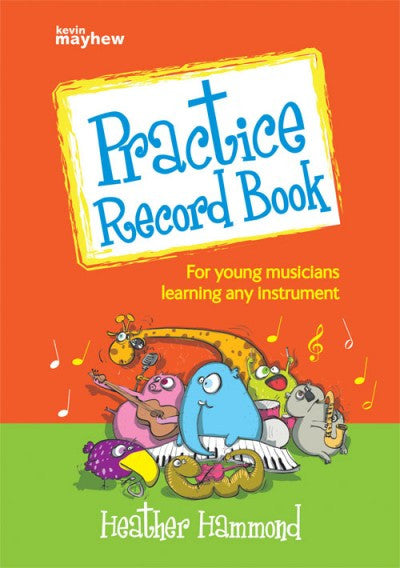 Practice Record Book by Heather Hammond
