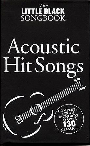 Little Black Songbook Acoustic Hits