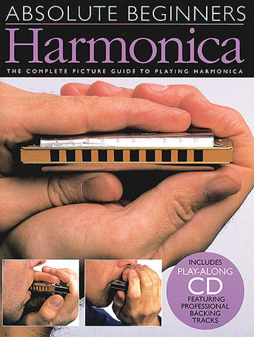Absolute Beginners Harmonica Book and CD