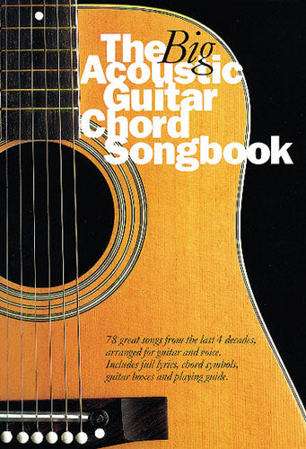 Big Acoustic Guitar Chord Book – Matchetts Music