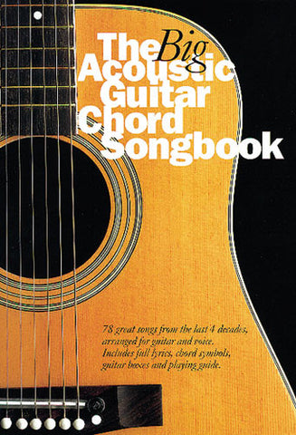 Big Acoustic Guitar Chord Book