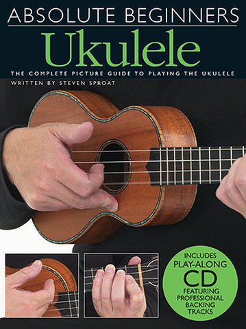 Absolute Beginners Ukulele Book and CD