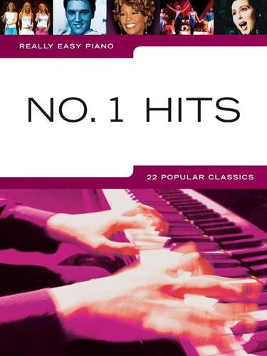 Really Easy Piano Number 1 Hits