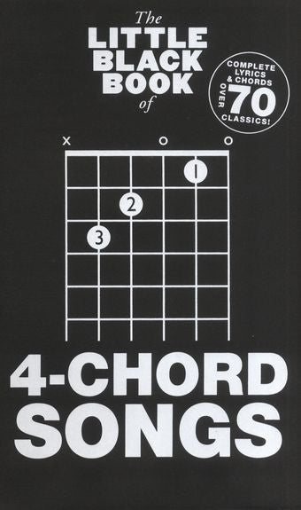 Little Black Book 4 Chords