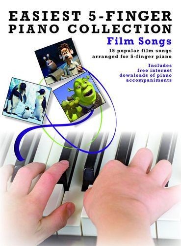 Easiest Five Finger Piano Film Songs